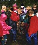 Unger på leirskole. (arkiv)
