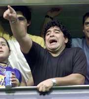 Maradona er et følelsesmenneske.