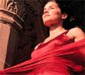 Kvinnen i rødt!