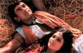 Heftige blikk brukes for å illustrere begjær i Bollywoodfilmene.