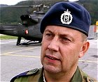 Presse- og informasjonsoffiser Morten Rosenlund. (Foto: NRK)