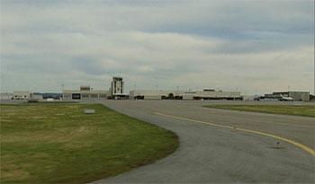 Stille på Haugesund Lufthavn, Karmøy (arkivfoto).