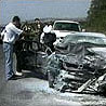 Fra ulykken i Makedonia i 1999.