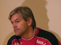 Teitur Thordarson, her avbildet fra tiden som Brann-trener, er rystet over årets Brann-lag. (Foto: Marit Hommedal/SCANPIX)