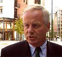 - Det dreier seg ikke om den nåværende konsernsjefen, sier Orkla-styreleder Tom Ruud. (Foto: NRK)