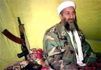 Osama bin Laden skal igjen ha vist livstegn, mens USA forbereder krig mot Irak. (Arkivfoto)