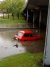 Regnvannet forårsaket store skader i Østfold tidligere i September