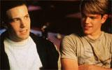 Oscarduoen Matt Damon (t.h) og Ben Affleck.