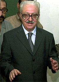 Iraks visestatsminister Tariq Aziz. (Reuters-Scanpix)