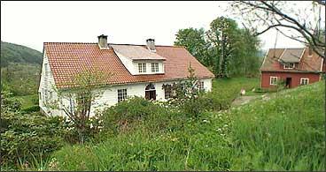 Nils Landmark budde på Leitet. (Foto: Asle Veien, NRK)