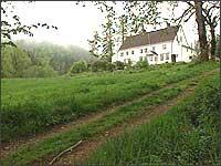 Hovudhuset på Tysse.