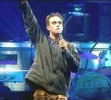 Robbie gjør Spania. (Foto: NRK)