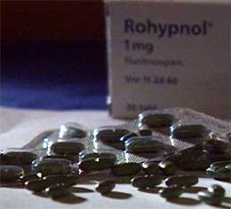 Ungdom som rusar seg på Rohypnol kan bli valdelege.