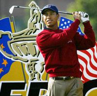 USA med Tiger Woods i spissen er favoritter i den 34. utgaven av Ryder Cup i golf på The Belfry.