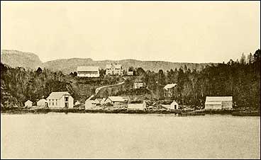 Hellevik i 1890. (Foto © Fylkesarkivet)