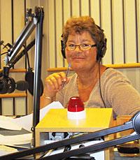 Margrethe Holt - alle kjenner stemmen. (Foto: Jon-Annar Fordal)