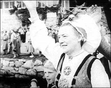 Marta Kvikne i 1951. (Foto: Norsk Film/NRK)