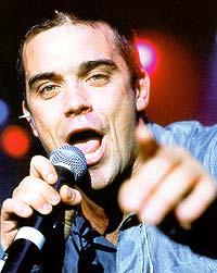 Robbie Williams skal fortsette å synge - og tjene penger.