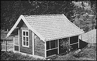 King Baileys Cabin kring 1910. Foto © BKF.