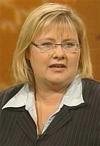 Kommunalminister Erna Solberg meiner det er vanskeleg å førebu seg på ein flyktningstraum frå Irak.