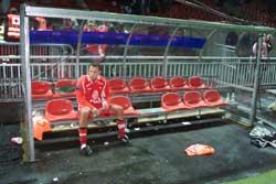 Endre Hansen er en av Brann- spillerne som ikke får fortsette.