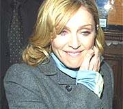 Madonna er visstnok av den tause typen.