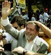 Lula var venstresidens vinner. Foto: Scanpix.
