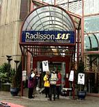 Også tidligere har det vært streik ved Radisson SAS Hotel Royal Garden.