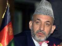 – Hvis jeg sa at jeg var skuffet over størrelsen på NATO-styrken, ville det være utakknemlighet, sa Karzai i går (Scanpix)