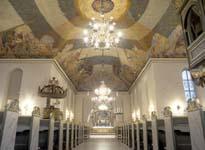 Kanskje blir det ikke like inspirerende under taket i Oslo Domkirke i fremtiden.
