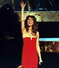 Celine Dion må ta til takke med andrevalget.