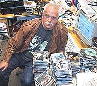 Geir Hovig meinar Hell Blues Festival er for lite nytenkande. Foto: Roy Strømsnes, NRK.