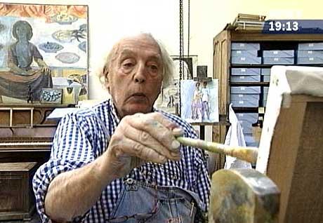 Guy Krohg er død, 85 år gammel. (Arkivfoto: NRK)
