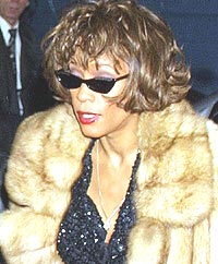 Whitney Houston misliker intervjuer. Foto: George De Sota / Newsmakers.