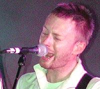 """Thom Yorke og Radiohead bruker sin nye plate til å """"mobbe"""" Bush. Foto: Troy Augusto / Newsmakers."""
