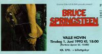 Prisen har auka betrakteleg for å sjå Bruce Springsteen.