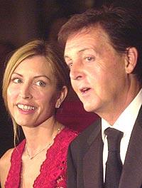 Heather Mills giftet seg med Paul McCartney i juni i år. Foto: Keith Bedford / Getty Images.