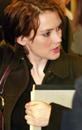 Winona Ryder ankommer rettslokalet i Beverly Hills