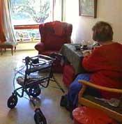 De som skal bo på avdelingen for demente i Lunde ser rett i en stor mur. (Illustrasjonsfoto)