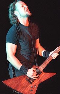 James Hetfield og Metallica skal hedres av MTV. Foto: Vaughn Youtz / Liaison.