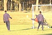 Sandefjord Fotball deler sine erfaringer med elevene i Sandefjord.
