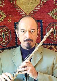 Komponist, fløytist og gitarist, Ian Andersons, Jethro Tull. Foto: J-tull.com.