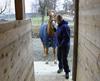 Å gå på hestehengern er blant de ting mange hester er redde for