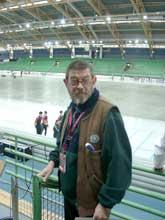 For fem år siden fikk Johan van der Heuvel nøklene til stadion i Inzell, etter at han hadde vært der i 30 år. (Foto: Kristian Elster)