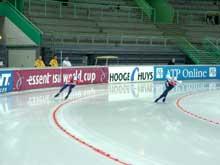 Petter Andersen (til høyre) åpnet godt i samløp med Jochem Uydtehaage. (Foto: Kristian Elster)