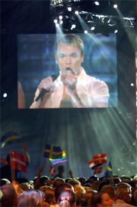 Haldor Lægreid gjorde det svært dårleg i Danmark. Foto: Scanpix