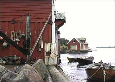 Fiskarbondemuséet på Byrknes. (Alle foto: Ingvild Ramstad, NRK)