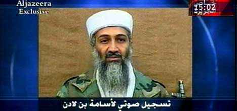 Osama bin Laden er framleis på frifot. (Scanpix-foto)