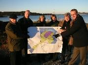 Oljeutvalget i Kristiansund fikk se ilandføringsstedet Nyhamna.