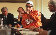 Ali G gjør suksess blant dressene i Underhuset